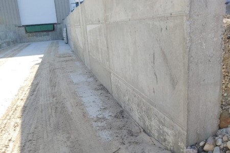 Poured Walls | Loading Dock | Diamond Concrete