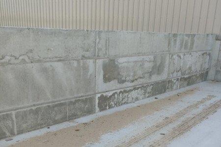 Concrete Walls Concrete Retaining Walls Concrete Footings