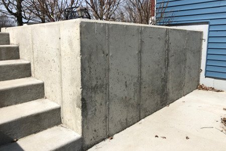 Retaining Walls | Concrete Steps | Diamond Concrete