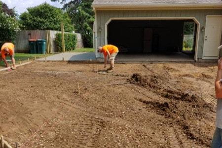Concrete Driveway Preparation