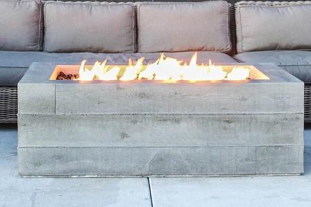 Gas Concrete Fire Pit