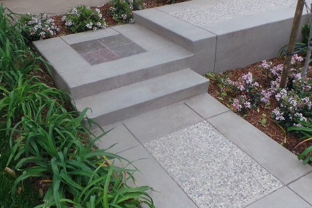 Decorative Concrete Pathway | Diamond Concrete