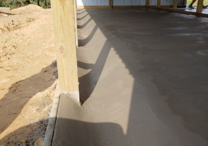 Pole Barn Floors | Diamond Concrete | Hamilton, Michigan