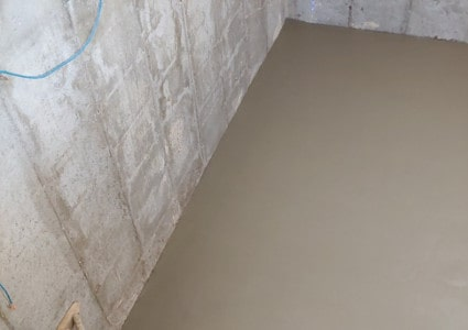Basement Pours | Diamond Concrete