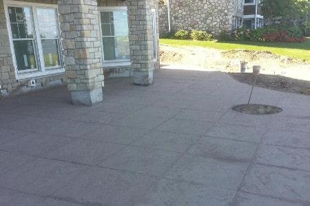 Stamped Concrete Patio | Diamond Concrete