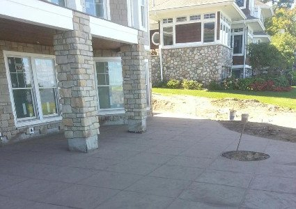 Stamped Concrete Patios | Diamond Concrete
