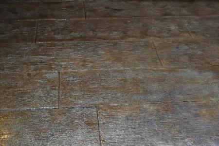 Stamped Wood Design