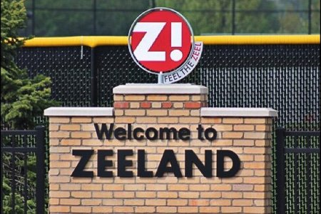 Zeeland Michigan Welcome Sign