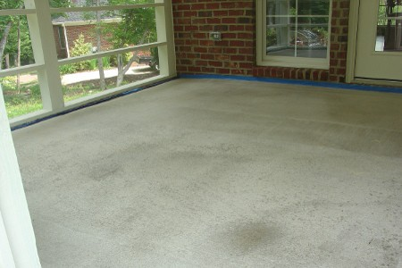 Concrete Porch | Diamond Concrete