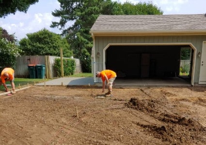Concrete Driveway Preparation | Diamond Concrete