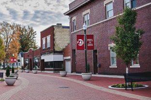 Downtown Zeeland Michigan