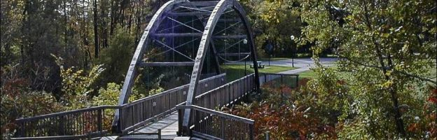 Paw Paw Foot Bridge in Zeeland, Michigan