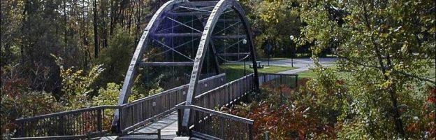Paw Paw Foot Bridge in Zeeland, Michigan
